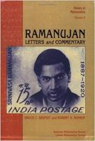 Ramanujan - Letters and Commentary (History of Mathematics, Vol 9).jpg