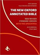 The New Oxford Annotated Bible with Apocrypha - New Revised Standard Version 5th Edition